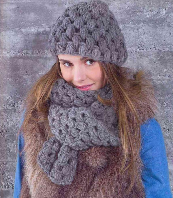 современные вязанные шапки для женщин спицами простая шапочка