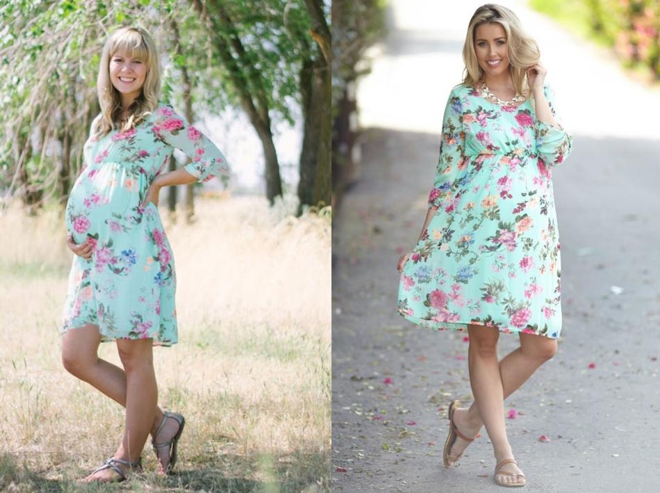 Платья для беременной своими руками 41