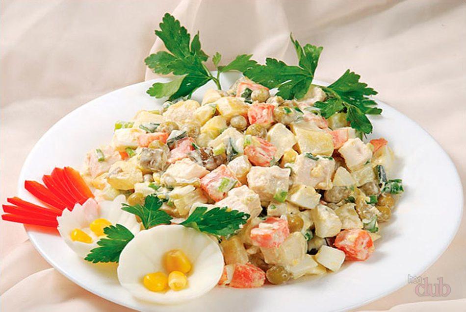 Beklenmedik misafirlerin eşiğinde mi Hızlı bir salata hazırlayın