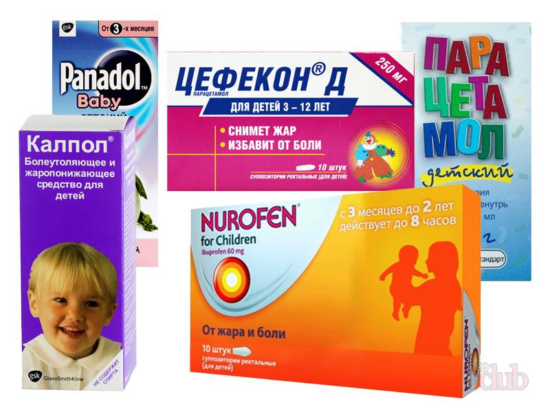 Лекарство от головной боли ребенку